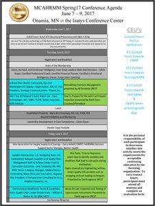 MCAHRMM-Spring-2017-Agenda