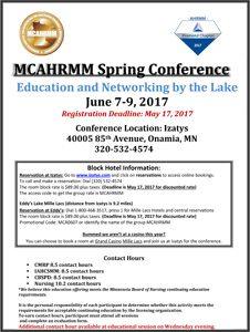 MCAHRMM-Spring-2017-Conference