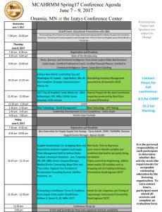 Spring17-MCAHRMM-Agenda